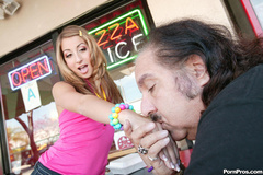 Cute latina teen makes Ron Jeremy - XXX Dessert - Picture 2