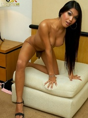 Well hung, big titted ladyboy shows off - XXX Dessert - Picture 11