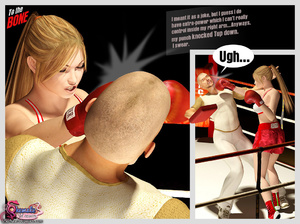 To The Bone - Shemale fucking and boxing - XXX Dessert - Picture 4