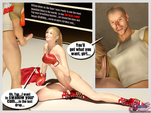 To The Bone - Shemale fucking and boxing - XXX Dessert - Picture 10