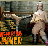 Suffering Sinner - Great BDSM Story about Shemale…