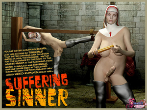 Suffering Sinner - Great BDSM Story abou - XXX Dessert - Picture 1