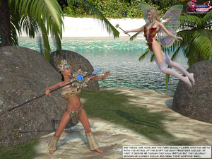 Shemale Fairytale - when priestess has d - XXX Dessert - Picture 1