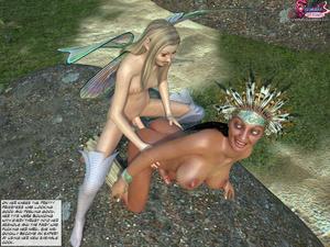 Shemale Fairytale - when priestess has d - XXX Dessert - Picture 7
