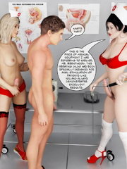 The Ultimate 3D Sex Therapy With Hot Two - XXX Dessert - Picture 6