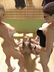 Hot Sex 3D Orgy In Shemale - XXX Dessert - Picture 12