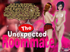 The Unexpected Roommate - Shemale Schoolgirl Fuck Her Roommate