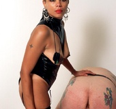 Simone is a 42 year old black dominatrix who loves…