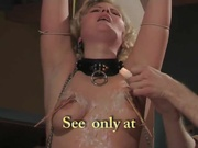 blonde slave hottie gets