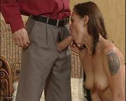 yummy tits brunette slave