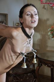 tied petite slave chick