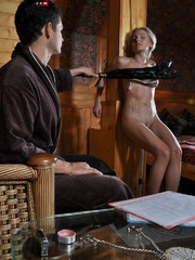 Little blonde enslaved hottie taking rough punishment - Picture 10