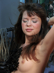 Sex hungry enslaved chcik helplessly endures pain and - Picture 3