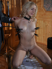 Submissive fuck slut riding her master's cock while her - Picture 7