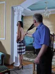 Slim body ensalved beauty taking punishment and getting - Picture 2