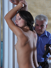 Slim body ensalved beauty taking punishment and getting - Picture 3