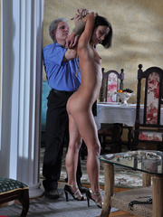 Slim body ensalved beauty taking punishment and getting - Picture 6