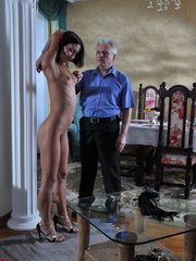 Slim body ensalved beauty taking punishment and getting - Picture 7