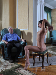 Slim body ensalved beauty taking punishment and getting - Picture 9