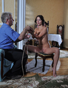 Slim body ensalved beauty taking punishment and…