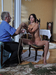 Slim body ensalved beauty taking punishment and getting - Picture 10