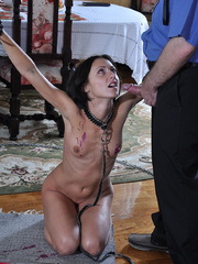 Slim body ensalved beauty taking punishment and getting - Picture 12
