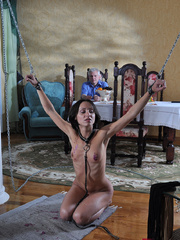 Slim body ensalved beauty taking punishment and getting - Picture 14