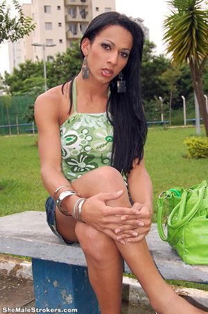 Nicole is a sexy Brazillian T-Girl who k - XXX Dessert - Picture 1