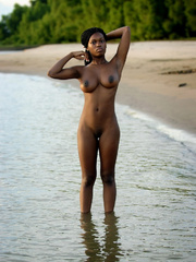 Out on the beach and in public black is - XXX Dessert - Picture 18