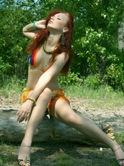 Lusty and erotic redhead in daring and - XXX Dessert - Picture 3