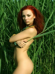 Lusty and erotic redhead in daring and - XXX Dessert - Picture 12