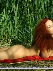 Lusty and erotic redhead in daring and - XXX Dessert - Picture 14