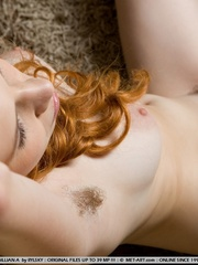 Uninhibited and refined redhead with pale - XXX Dessert - Picture 5