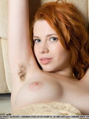 Uninhibited and refined redhead with pale - XXX Dessert - Picture 10