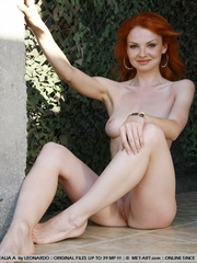 Tags: Outdoors, pale skin, redhead. - XXX Dessert - Picture 2