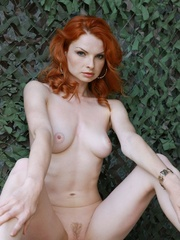 Tags: Outdoors, pale skin, redhead. - XXX Dessert - Picture 7
