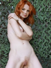 Tags: Outdoors, pale skin, redhead. - XXX Dessert - Picture 10