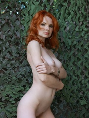 Tags: Outdoors, pale skin, redhead. - XXX Dessert - Picture 11