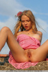 Innocent Polly has delicate silky blonde hair and a fresh hot body, she