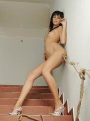 Julia is a rocker chick with stylish black - XXX Dessert - Picture 12