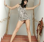 Julia is a rocker chick with stylish black hair ,…