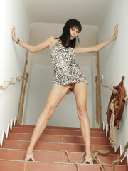 Julia is a rocker chick with stylish black - XXX Dessert - Picture 19