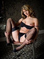 Betty in black lingerie - Sexy Women in Lingerie - Picture 7