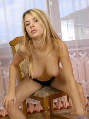 Nubile in pantyhose boasting her - Sexy Women in Lingerie - Picture 7