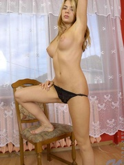 Nubile in pantyhose boasting her - Sexy Women in Lingerie - Picture 10