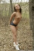 Fuckin smokin brunette plays outside in dried up…