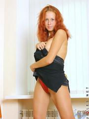 Hottie dasha pulls down her bikini - Sexy Women in Lingerie - Picture 7