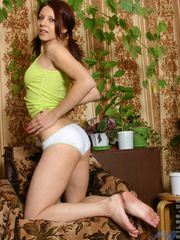 Cute nubile hottie oleja has her - Sexy Women in Lingerie - Picture 5