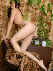 Cute nubile hottie oleja has her - Sexy Women in Lingerie - Picture 9