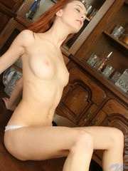 Check out this redhead euro girl - Sexy Women in Lingerie - Picture 11
